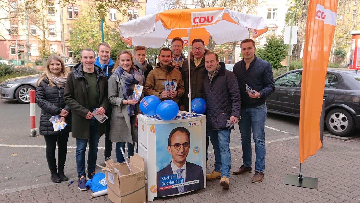 Infostand am Hit